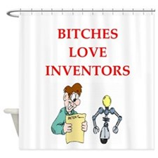 invemtor Shower Curtain