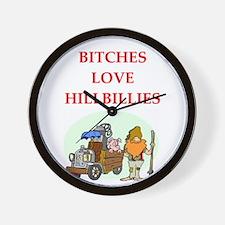 hillbilly Wall Clock