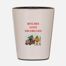 hillbilly Shot Glass