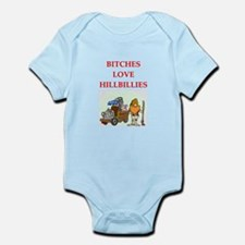 hillbilly Infant Bodysuit