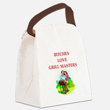barbecue Canvas Lunch Bag