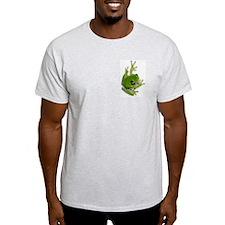 Tree Frog -  Ash Grey T-Shirt