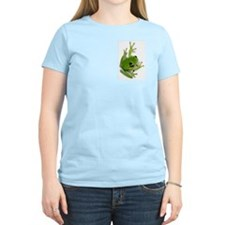 Tree Frog -  Women's Pink T-Shirt