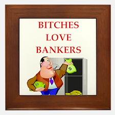 banker Framed Tile