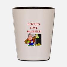 banker Shot Glass