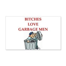 trash Wall Decal