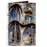 Gaudi Journals & Spiral Notebooks