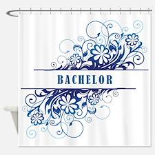 BACHELOR Shower Curtain
