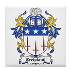 Treipland Coat of Arms Tile Coaster