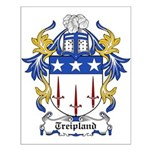 Treipland Coat of Arms Small Poster