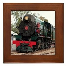 Pichi Richi Train, South Australia Framed Tile
