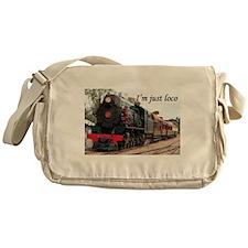 I'm just loco: Pichi Richi train Messenger Bag
