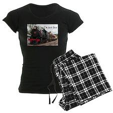 I'm just loco: Pichi Richi train Pajamas