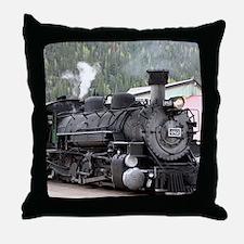Steam Train: Colorado Throw Pillow