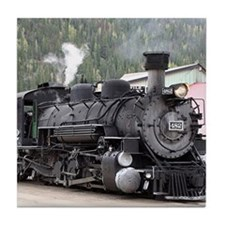 Steam Train: Colorado Tile Coaster