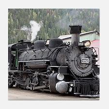Steam Train: Colorado Tile Coaster