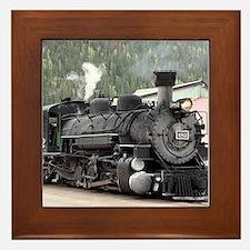 Steam Train: Colorado Framed Tile