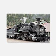 Steam Train: Colorado Rectangle Magnet