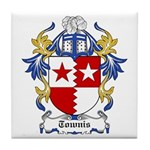 Townis Coat of Arms Tile Coaster