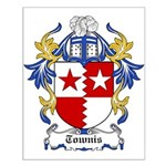 Townis Coat of Arms Small Poster