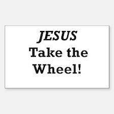 Jesus Take the Wheel Decal