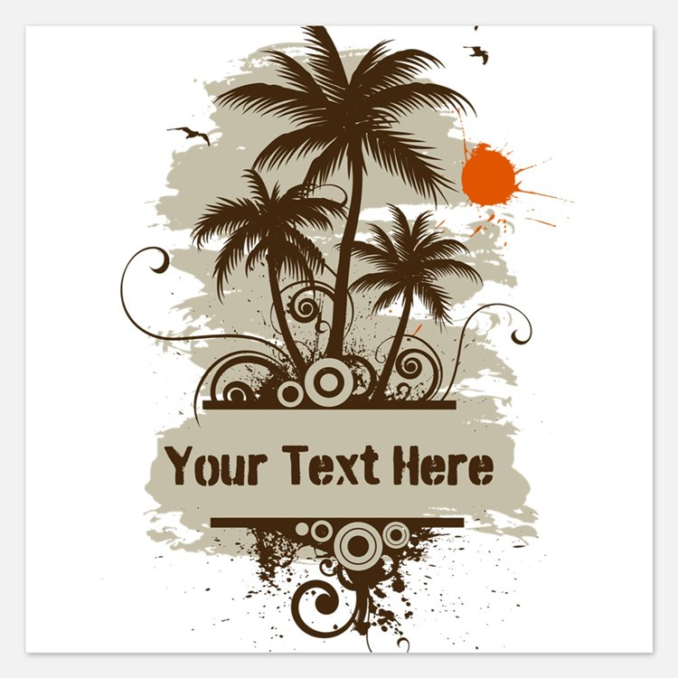 Cute Hawaii Invitations