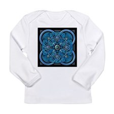 Blue Celtic Tapestry Long Sleeve Infant T-Shirt