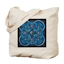 Blue Celtic Tapestry Tote Bag