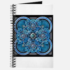 Blue Celtic Tapestry Journal