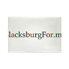BlacksburgFor.me Rectangle Magnet