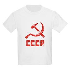 Vintage CCCP Kids T-Shirt