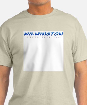 Wilmington, NC Ash Grey T-Shirt