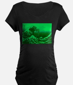 The Great Wave Off (Green) - T-Shirt