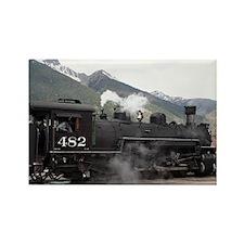Steam Train: Colorado 2 Rectangle Magnet