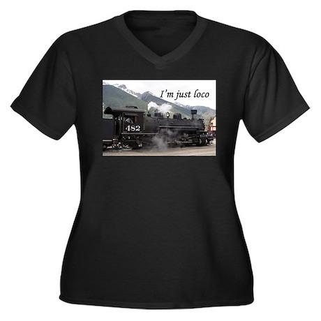 I'm just loco: Colorado steam train 2 Women's Plus
