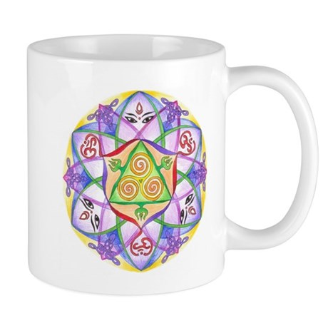 Celtic Triple Goddess Mandala.jpg Mug