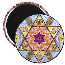 Shiva Shakti Mandala Magnet