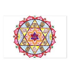 Shiva Shakti Mandala Postcards (Package of 8)