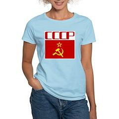 Cool CCCP Women's Pink T-Shirt