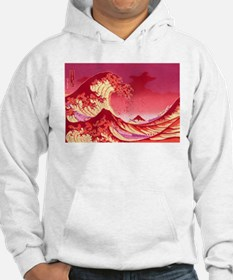 The Great Wave Off (Red) - Hoodie