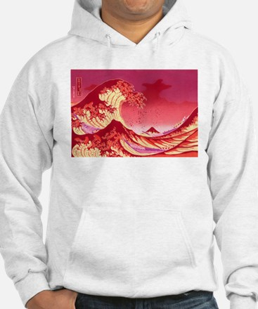 The Great Wave Off (Red) - Jumper Hoody
