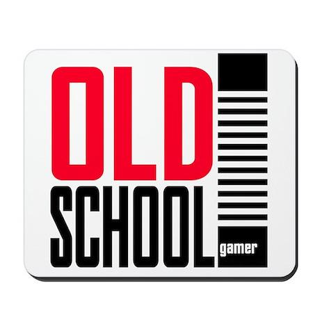 Old School Gamer Mousepad