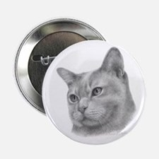 Burmese Cat Button