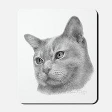 Burmese Cat Mousepad