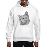 Burmese Cat Hooded Sweatshirt