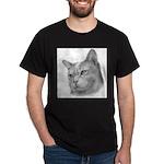 Burmese Cat Black T-Shirt
