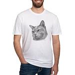 Burmese Cat Fitted T-Shirt