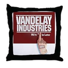 Vandelay Industries Latex Glove - Throw Pillow