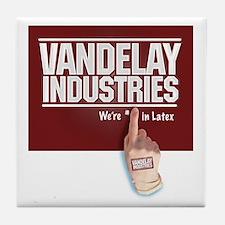 Vandelay Industries Latex - Tile Coaster