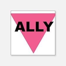 Ally Rectangle Sticker